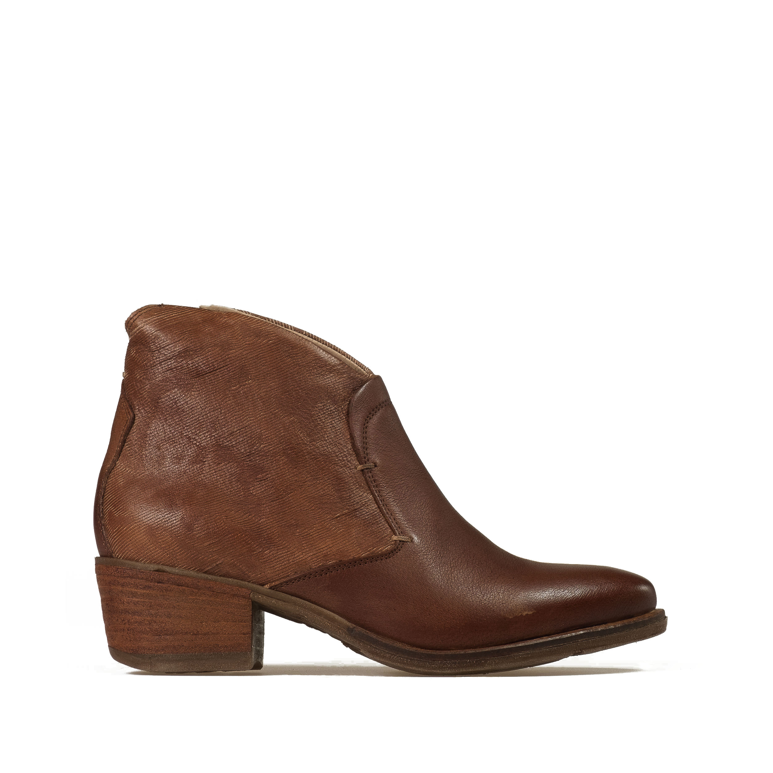 Ankle italian lady's boot tex style
