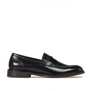 9500 black penny loafer